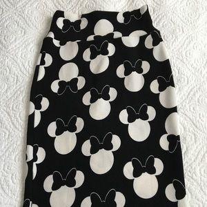 Disney Minnie Mouse pencil skirt